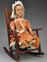 Izannah Dolls Early walker doll, beautiful example from...