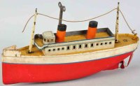 Bing Tin-Ships Ocean liner wind-up toy made of...