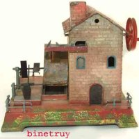 Falk Steam Toys-Drive Models Watermill