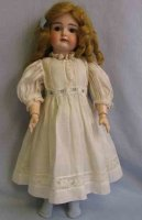 Kestner J. D. Dolls Doll with bisque head and 8-ball...