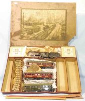 Maerklin Railway-Trains Train set made of tin and cast...