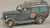 Tippco Military-Vehicles Military ambulance, made of...