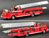 Doepke Tin-Fire-Truck Model toys fire ladder truck made...