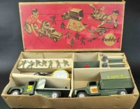 Buddy L Military-Vehicles Army combination set #5561,...