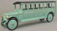 Dent Hardware Co Cast-Iron buses Coast to Coast bus made...