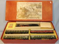 Maerklin Railway-Trains Train set in original box,...