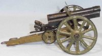Maerklin Military Toys-Arms Cannon made of tin, hand...