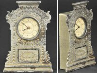 Ives Cast-Iron-Mechanical Banks Registering dime savings...
