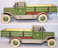 Tippco Tin-Trucks Dump truck made of tin, lithographed in...
