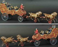 Hubley Cast-Iron-Carriages Royal circus band wagon, cast...