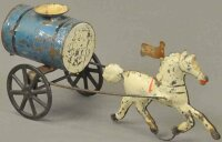 Brown George Tin-Carriages Water tanker, hand painted...