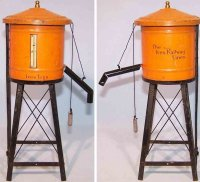Bing Tin-Toys Water tower, made of tin, lithographed in...