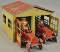 Turner Toys Vehicles-Fire Trucks Garage 2 fire engines