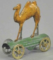 Unknown Tin-Penny Toy Camel made of lithographed...