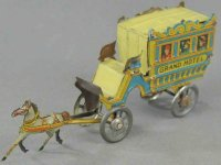 Meier Tin-Penny Toy Grand Hotel coach, lithographed tin,...