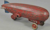 Kenton Hardware Co Cast-Iron Airplanes Large Los Angeles...
