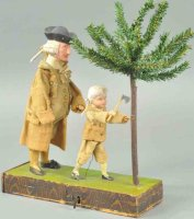 Unknown Tin-Automata Rare clockwork George Washington...