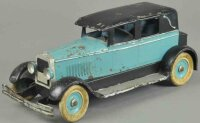 Kingsbury toys Tin-Oldtimer Sedan, pressed steel, painted...