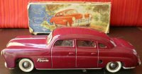Tippco Tin-Oldtimer Tin wind-up Hudson with lights and...