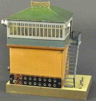 Maerklin Railway-Interlockings Switch tower, very rare...