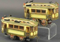 Plank Ernst Tin-Trams Trolley tandem, features early...