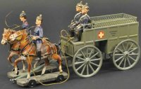 Maerklin Military-Carriages Horse drawn field ambulance...