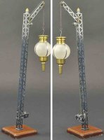 Maerklin Railway-Lamps/Lanterns Crank operated street...