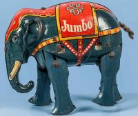 Blomer & Schüler Tin-Animals Elephant Jumbo in original...