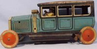 Tippco Tin-Oldtimer Travel limousine made of tin,...