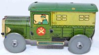 Rossignol Tin-Penny Toy Military truck in green with...