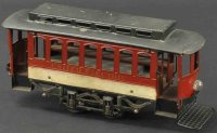 Voltamp Tin-Trams Trolley #2120 with closed end, 2nd...