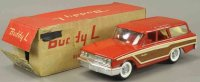 Buddy L Tin-Cars Factory prototype country squire wagon,...