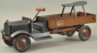 Keystone Tin-Trucks Packard dump truck, made of pressed...