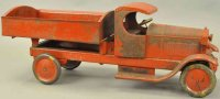 Turner Toys Tin-Trucks Lincoln dump truck, C-cab with...