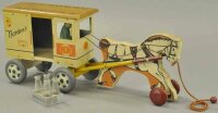 Rich Toys Inc. Tin-Carriages Milk and cream farm products...