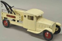 Steelcraft Tin-Trucks Super service truck, wrecker, made...