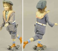Martin Fernand Tin-Figures Le Petit Patineur, Roller...
