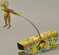 Marx Tin-Figures Acrobatic marvel, lithographed tin,...