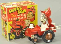 Marx Tin-Other-Vehicles Smoky Sam with box, complete, all...