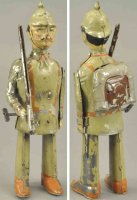 Unknown Tin-Figures Soldier figure, made in Germany, hand...