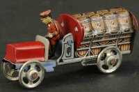 Distler Tin-Penny Toy Beer truck, well detailed tin...