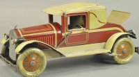 Fischer Heinrich Tin-Oldtimer Coupe with electric...