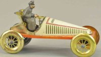Issmayer Tin-Race-Cars Gordon Bennett racer, very rare...