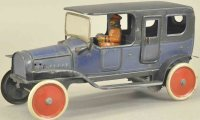 Fischer Georg Tin-Oldtimer Limousine lithographed tin,...