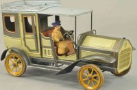 Bing Tin-Oldtimer Luxus limousine lithographed tin, done...