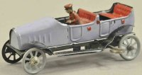 Unknown Tin-Penny Toy Open limousine penny toy, made of...