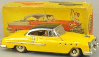 Guenthermann Tin-Cars Auto with box No. 850, well...