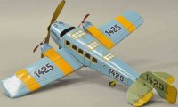 Guenthermann Tine Ariplanes 1425 airplane, lithographed...