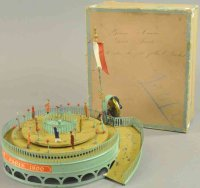Unknown Tin-Carousels Boxed trottoir roulant (moving...