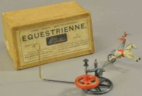 Britains Ltd. Toy Tin-Figures Equestrienne toy in box,...